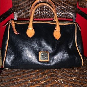 Vintage Dooney and Bourne 1975 2 tone leather bag